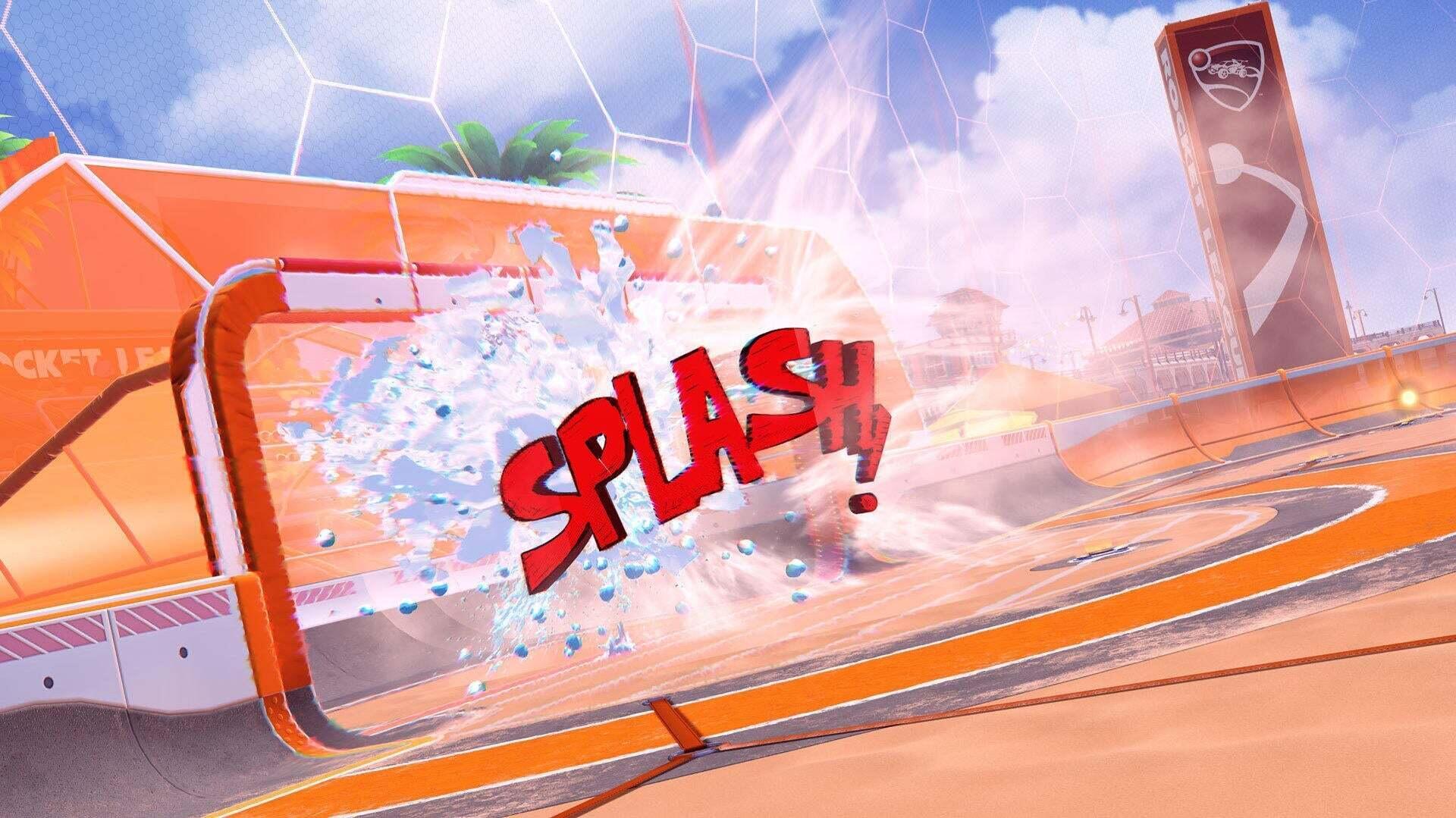Big Splash Goal Explosion