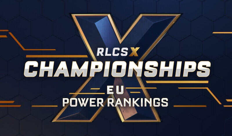 RLCS X Championships: European Power Rankings article image